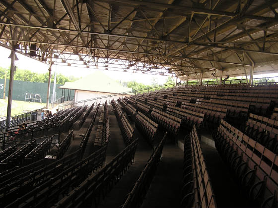 Engel Stadium stands