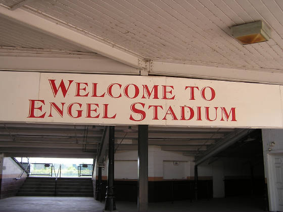 Welcome to 'Historic' Engel Stadium